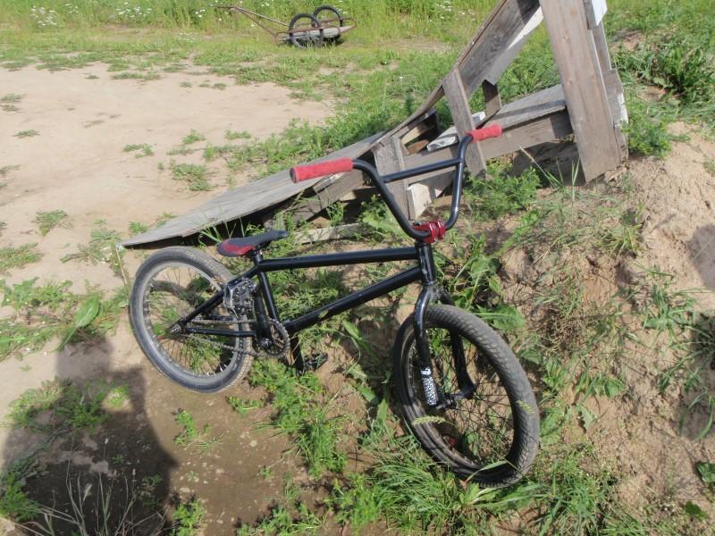 My kink BMX.