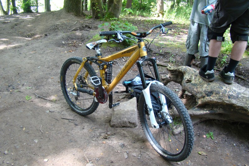 Trek Session 77 with new(since last pics) D2 stem, troy lee saddle and ex823 rim