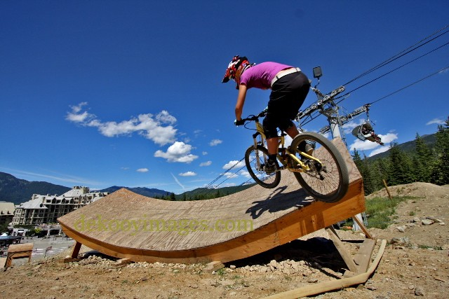 Into the dish at Whistler's bone yard-photo by Derek Vanderkooy