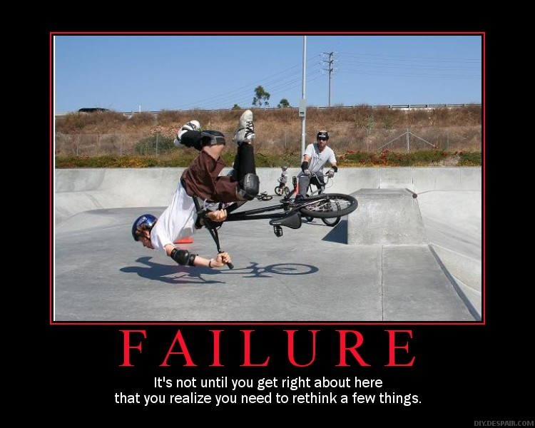 Yeah, yeah, I know you've seen it a thousand times but I couldn't help myself. This isnt supposed to be an anti-BMX message either, its just something to laugh about.
