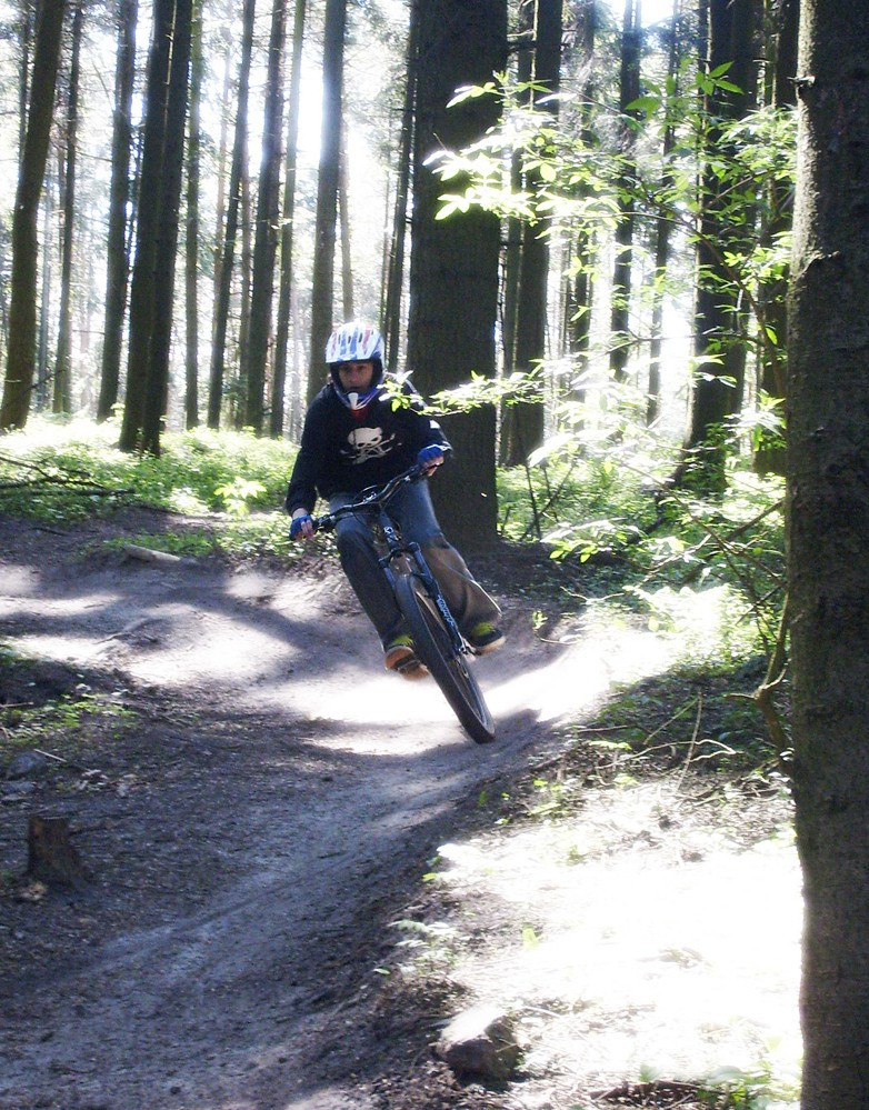 Riding... old times :)