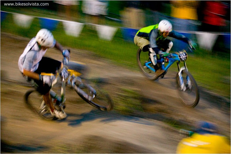 Brian Lopes took the win at the Sol Survivor Mountain States Cup Dual Slalom Race