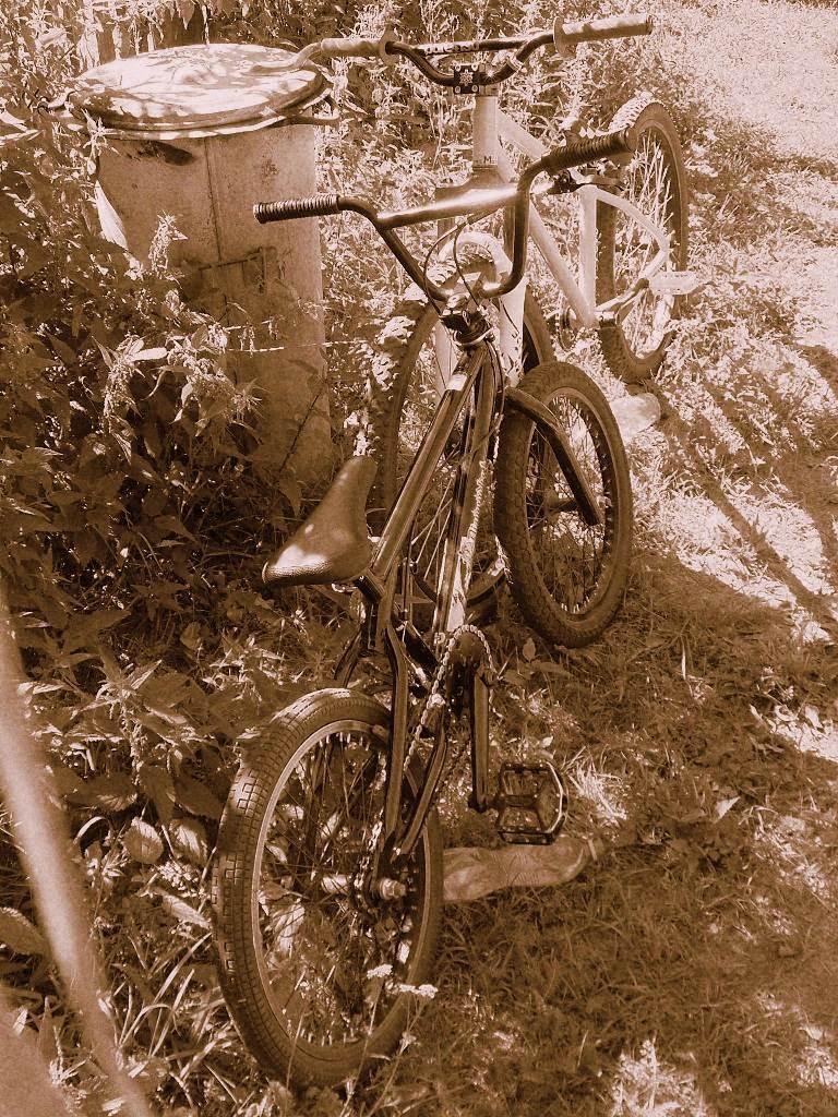 Two bikes: BMX - mine, HM MTB - Art (http://artridersierpc.pinkbike.com/)