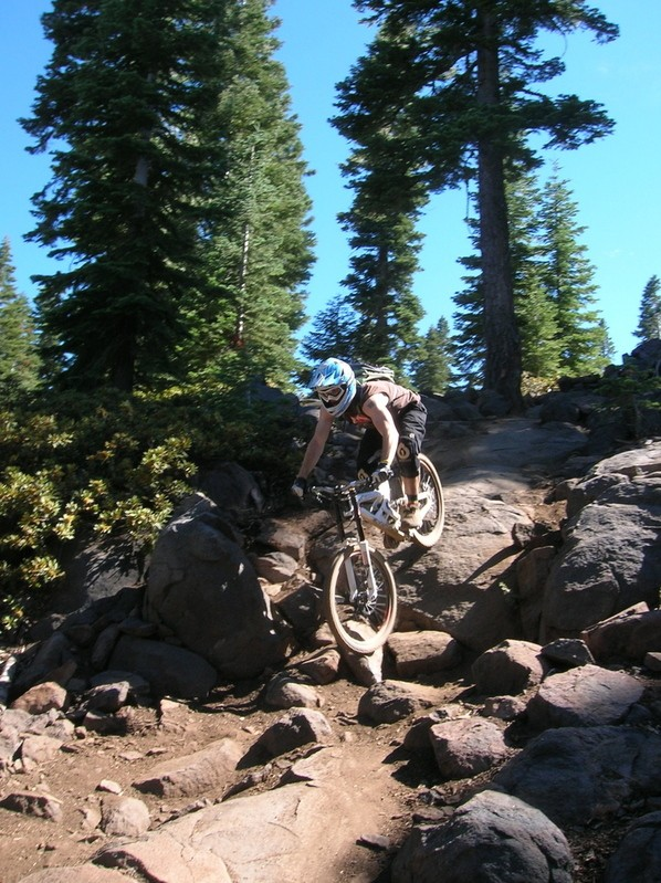 Waterfall on Sticks and Stones at Northstar.