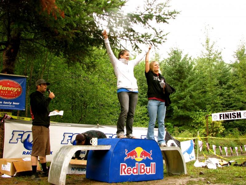 Pro womens podium DH