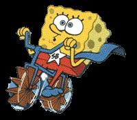 a sponge freerideing