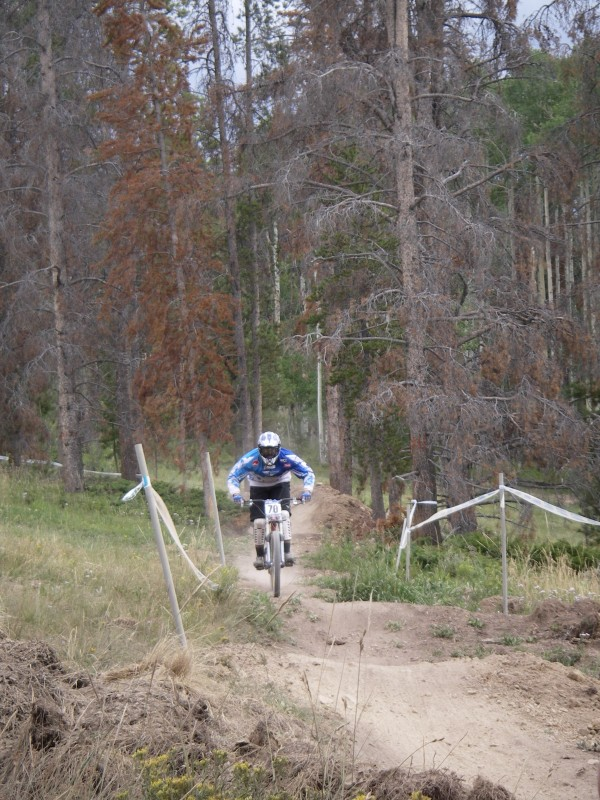 This was the day two race course. Most of us did it chainless...so much fun!