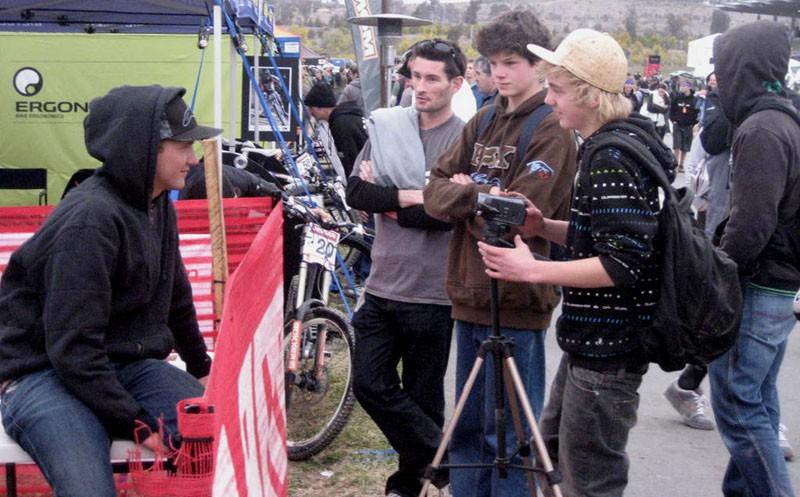 Me Interviewing Greg Minnar