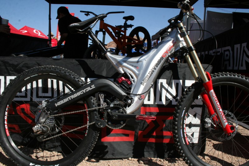 The latest Mountain Cycle Shockwave