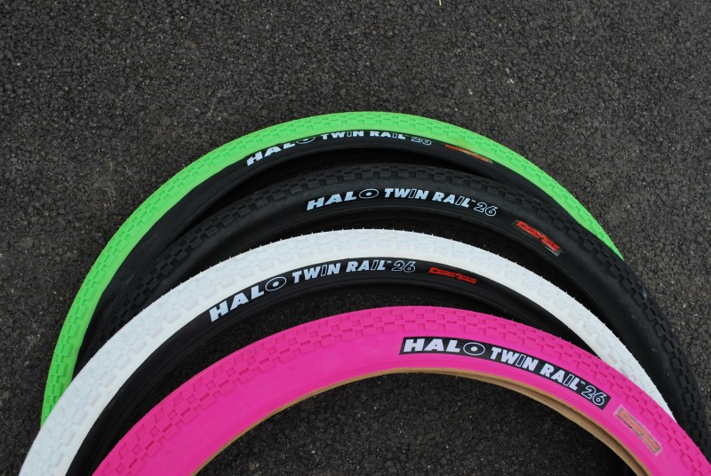 Halo Twin Rail Dual Compound Tyre