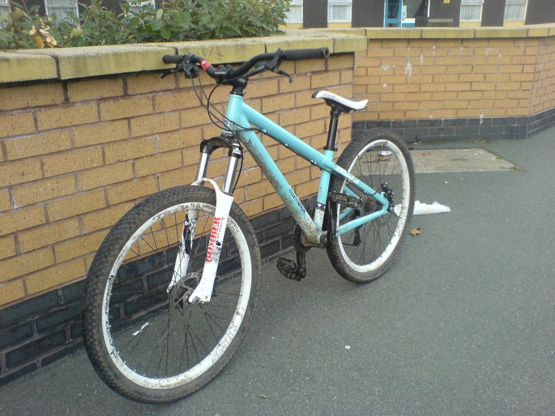 My bike (Commencal Absolut)