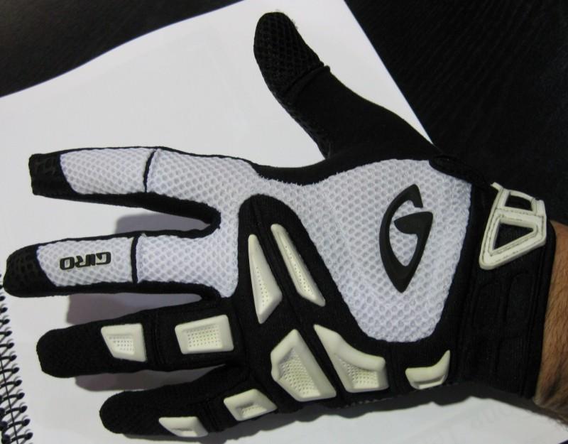 Interbike 2008 - Giro Gloves - Remedy top.
