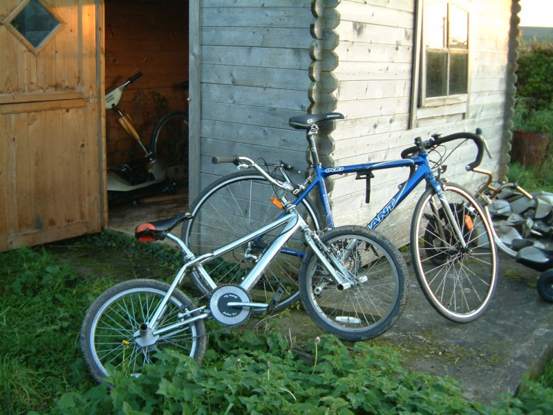 two current bikes that work and i ride