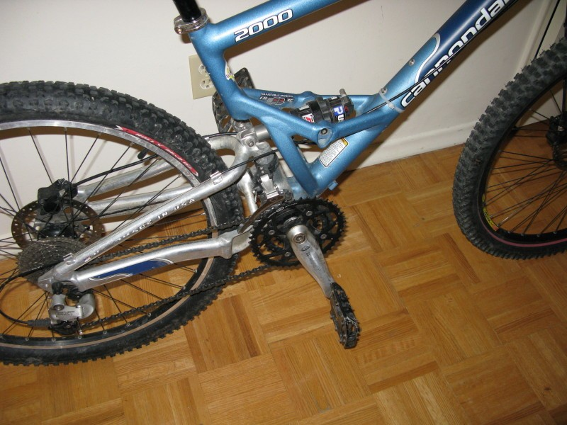 2000 Cannondale Jekyll Xc Mountain Bike For Sale