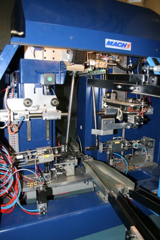 Devinci Factory Tour - Wheel building machine