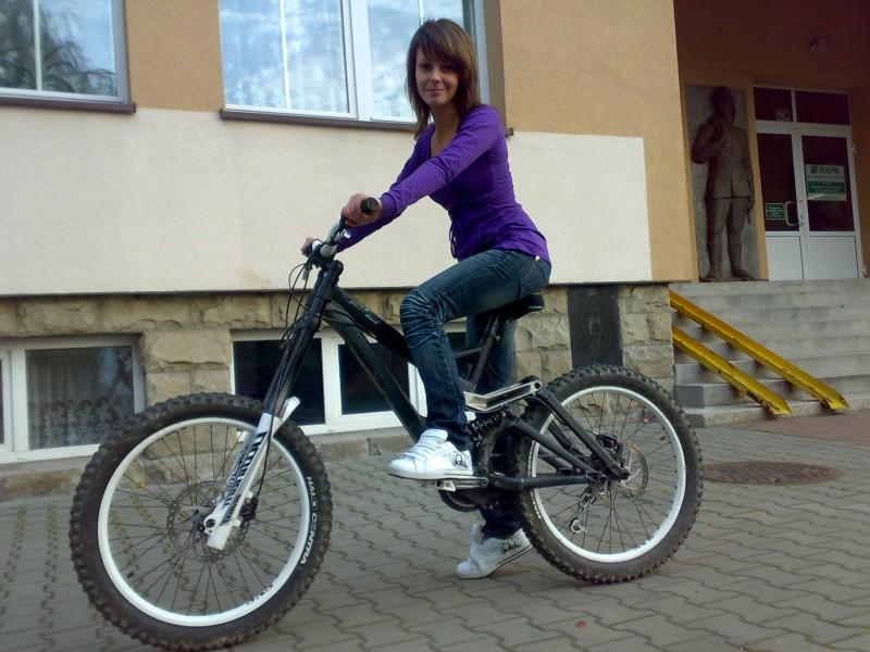 someone on my bike