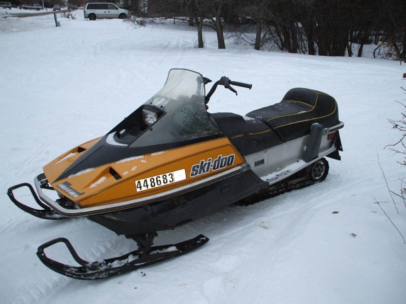 1981 Skidoo Blizzard 5500 503 Cc Excelent Condition For Sale