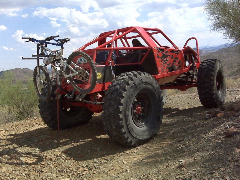 Crawler with bike