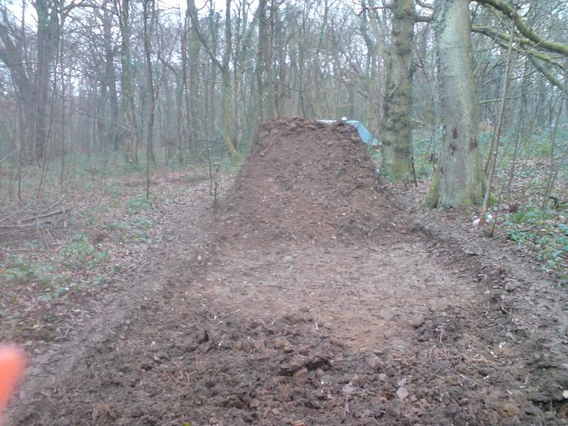 Digging at Moos - 21/12/08
