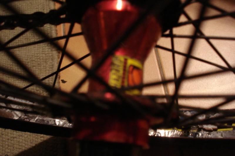 Odyssey Hazard Cassette wheel