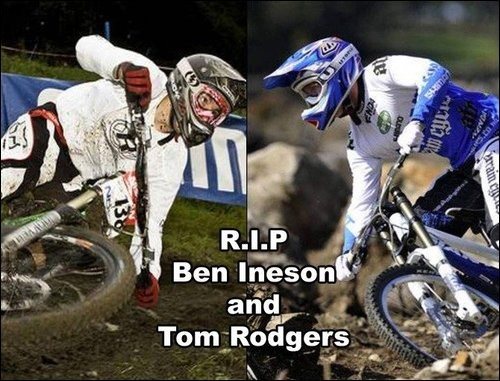 these two lads were both killed in a horrific car crash, two of the best guys ive ever met. goodbye lads :( xxxxxxxx
