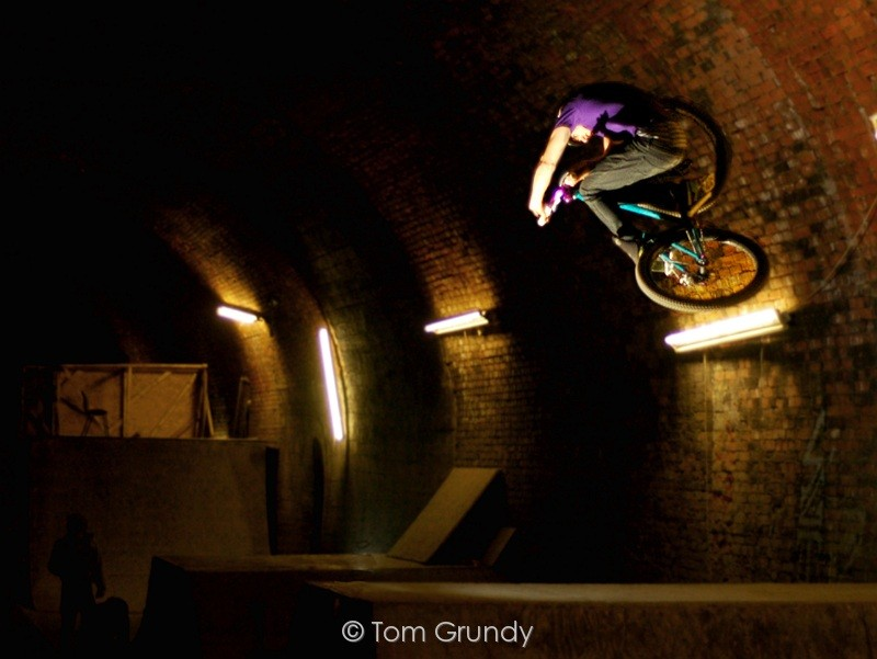 The most crazy skatepark.... and its in a tunnel! As allways Sam laying down the flatest of tables.. Check it out in Tom Grundy Webisode 2, out 1st Feb  Photo By Tom Grundy