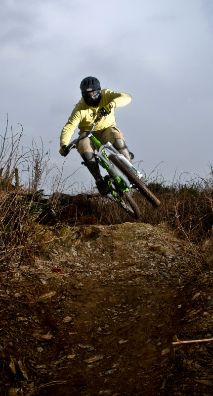 Getting wide then into the berm - Cubed Square Photography - Chris Russell