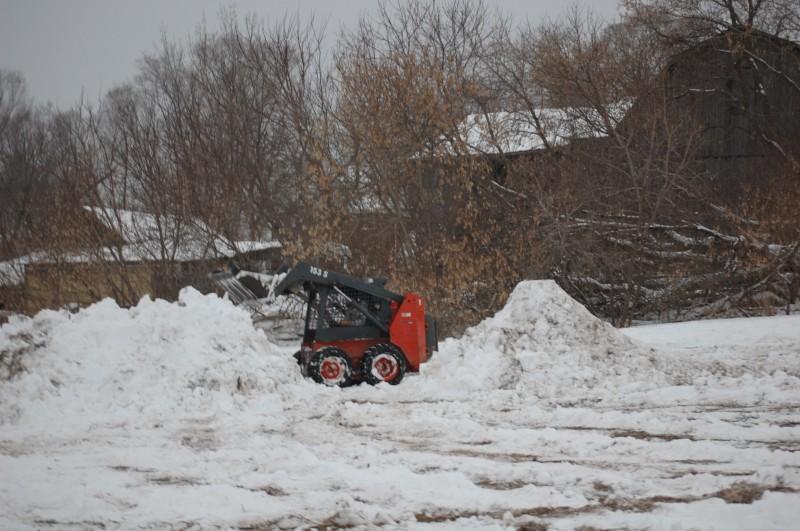 Snow Building