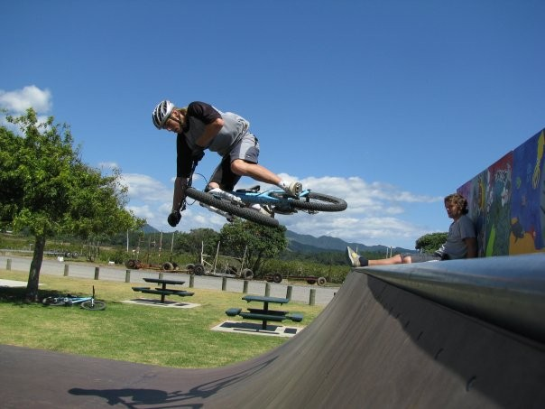 sick table on half pipe