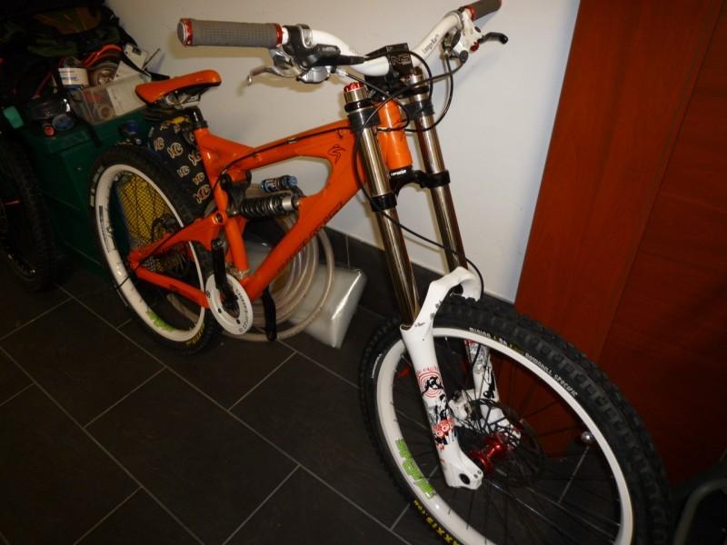 Here is my bike resting!