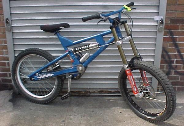oldschool dh bike,60 pound