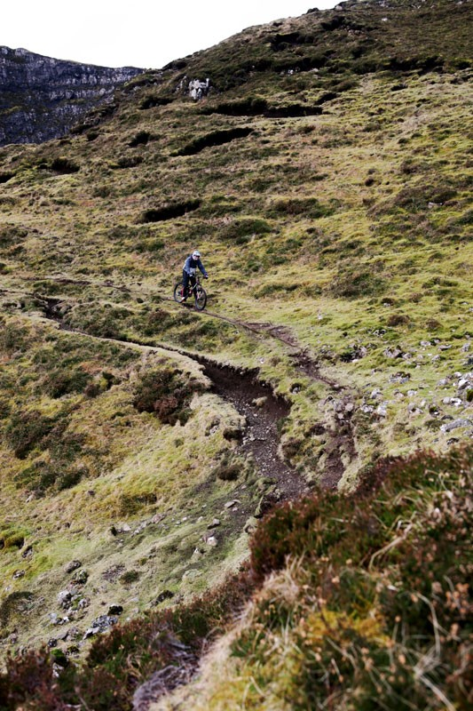 Single track on the Quiraing