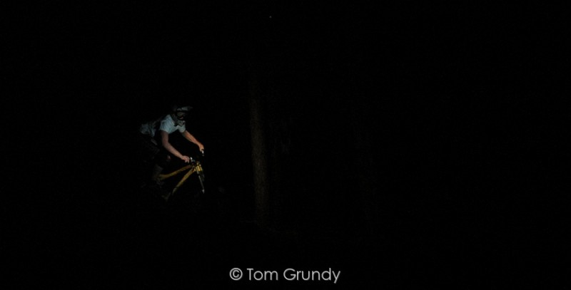 Shot in the pitch black, i had to guess where i was pointing the camera!