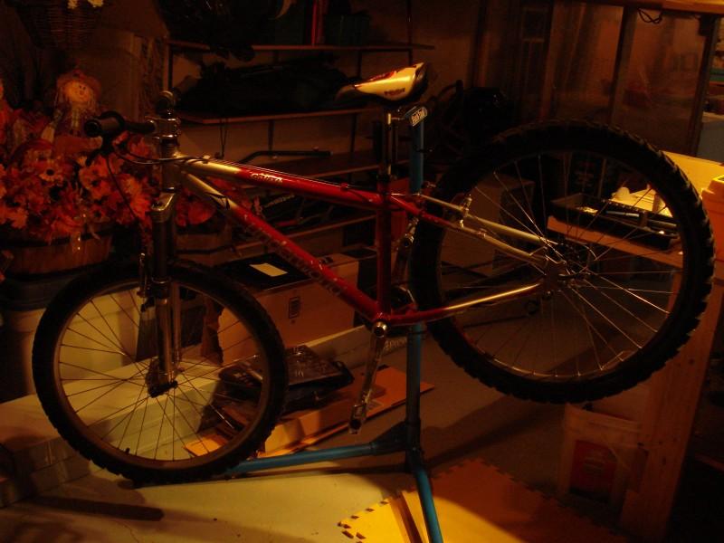 girlfriend bike to be transforme