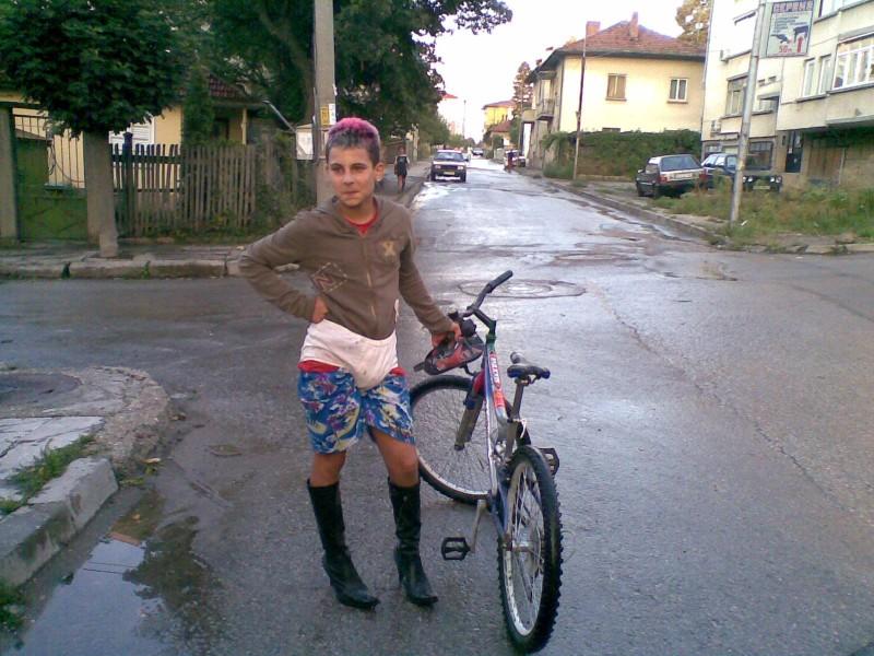 My friend Ivan like a woman!