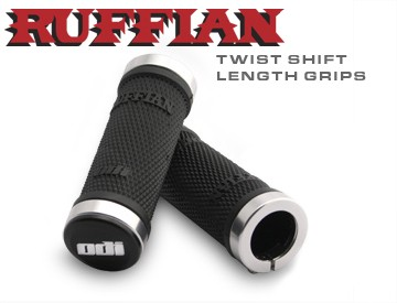 ODI Ruffian Lock-On Grips (90mm)