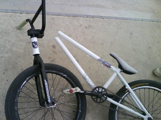snaped bike