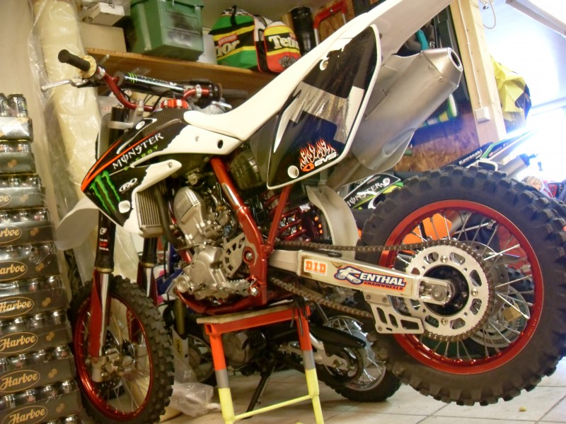 My cousins ex ride, now it´s for sale   ONE OF A KIND!!!