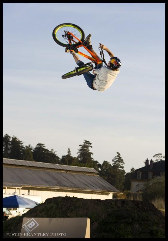 FLIP UNTURNDOWN! This kid is crazy! Photo: Justin Brantley