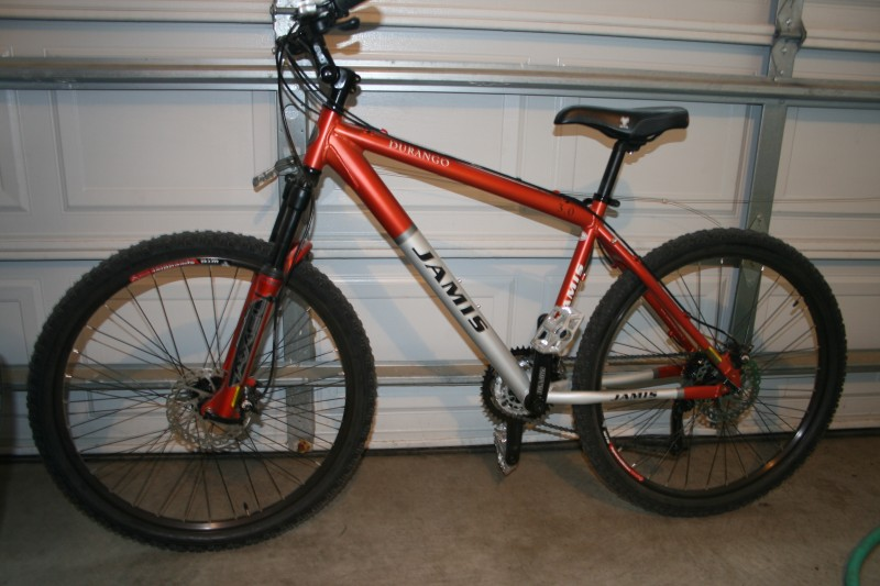 2006 Jamis Durango 3 0 Medium 17 Quot Orange And Silver For Sale