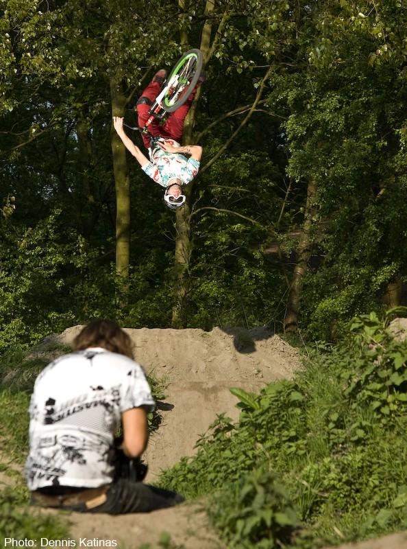 Flip table! kona euro clump rider. Nice Bro! Boudewijn K. Neven shooting film :)