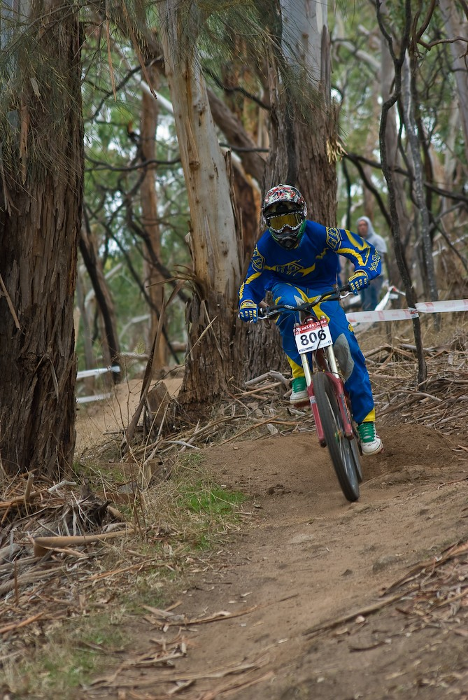 Local race at Mt Torrens