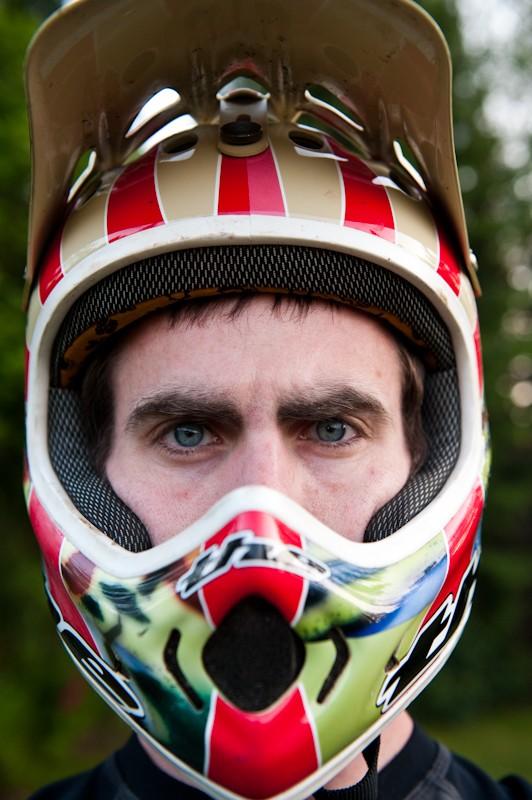 THE helmet fit