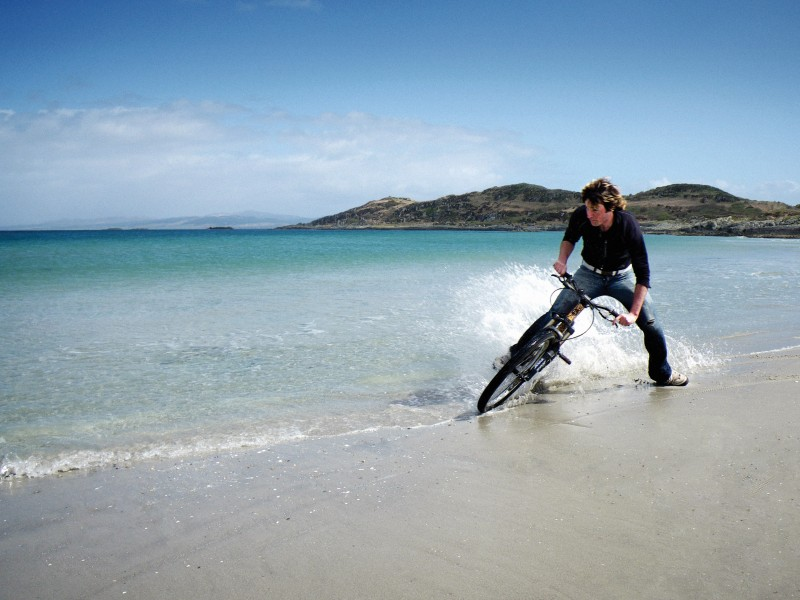 Getting some drifts on on a Scottish (thats right its in Scotland...) Beach....