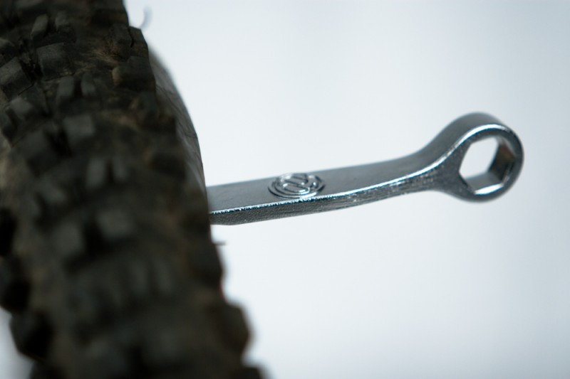 PDW 3 Wrencho - 15mm wrench, and tire lever combo.