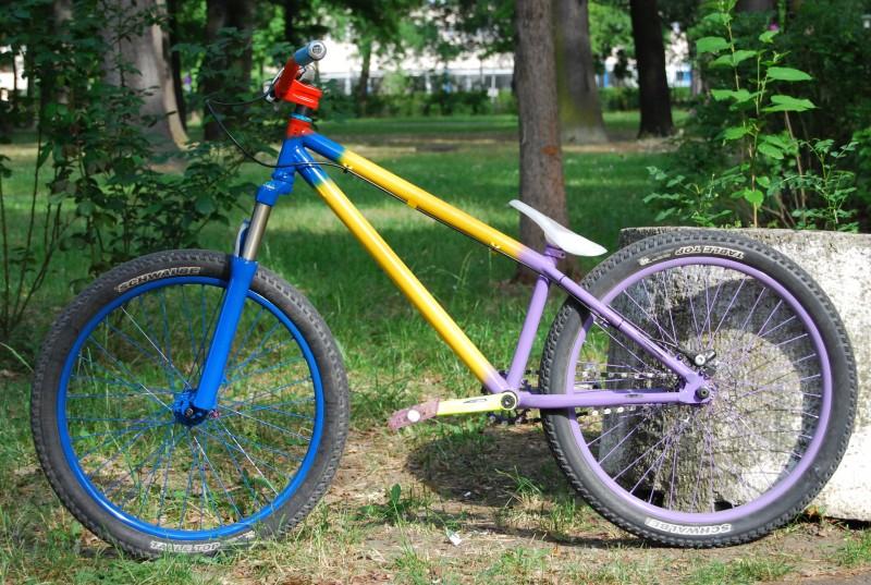 Mutant bikes.