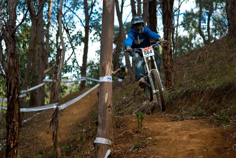 Racing at Fox Creek, South Australia