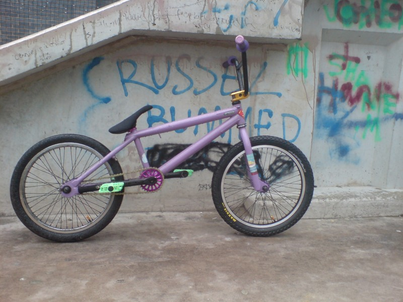 my bike at penrit skate park