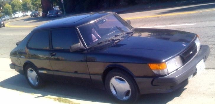 my 88 saab spg. now a burnt orange color with racing buckets. will get new pics soon!