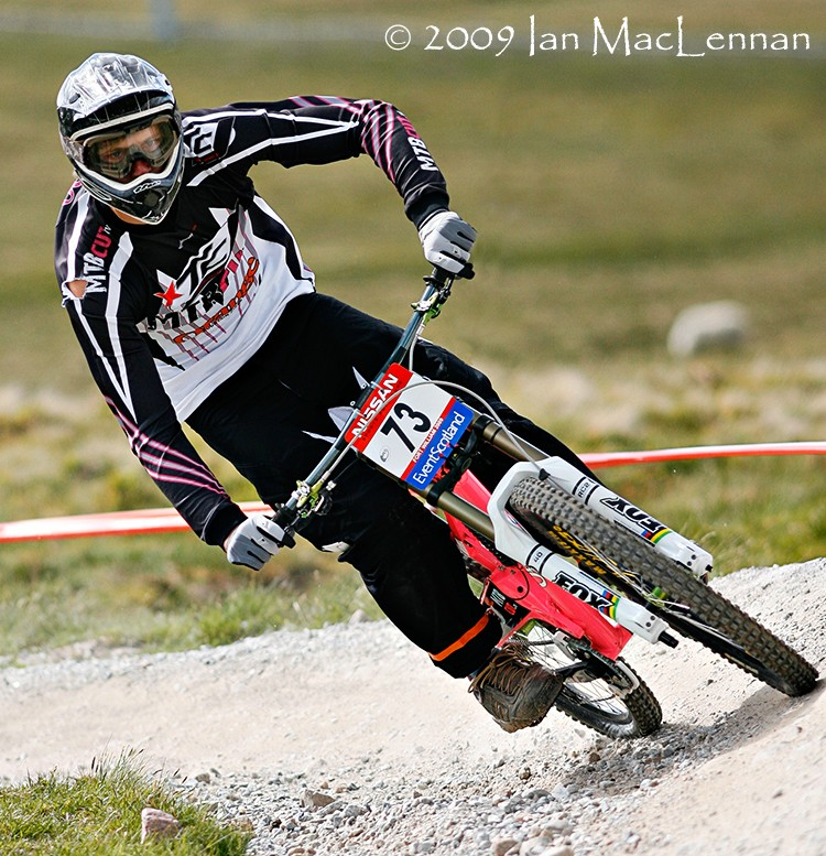 2009 Fort William World Cup report photos by Ian MacLennan